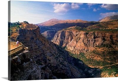 Lebanon, Canyon near Bcharre