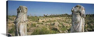 Libya, Cyrenaica, Ruins of Roman city Tolemaide