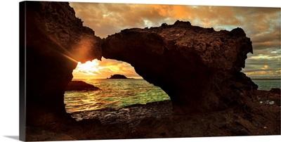 Madagascar, Nosy Be, Tsarabanjina island, sunset