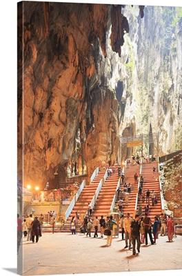 Malaysia, Kuala Lumpur, Batu Caves, significant site of Hindu worship