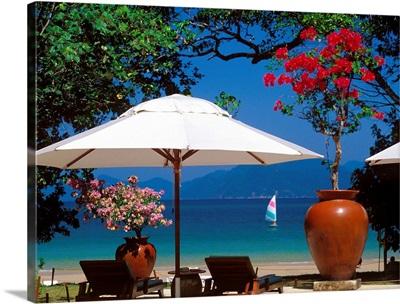Malaysia, Langkawi Island, Datai Resort, beach