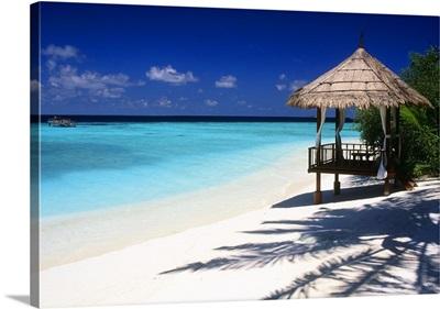 Maldives, Male Atoll, Tropics, Indian ocean, Vabbinfaru, Banyan Tree Resort