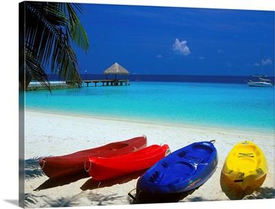 Maldives, South Male Atoll, Bolifushi Island