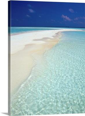 Maldives, South Male Atoll, sand banks
