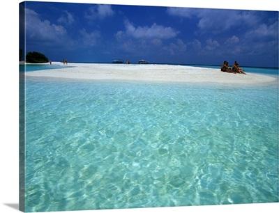 Maldives, South Male Atoll, Vaagali Island