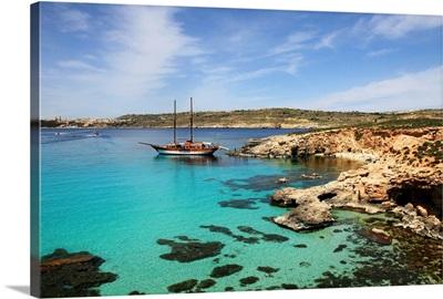Malta, Comino, Mediterranean sea, Blue Lagoon