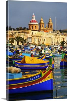 Malta, Marsaxlokk, The harbor