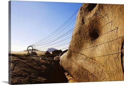 Mauritania, Sahara Desert, Ben Amera (the second largest monolith in the world)