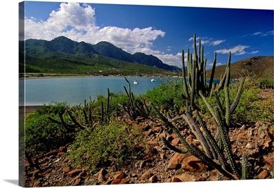 Mexico, Baja California Sur, Loreto, Pacific ocean, Inlet of Puerto Escondido