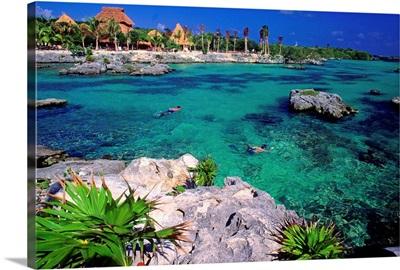 Mexico, Quintana Roo, Caribbean, Xel Ha lagoon