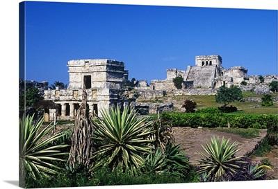 Mexico, Quintana Roo, Riviera Maya, Tulum, The ruins of the ancient Maya city