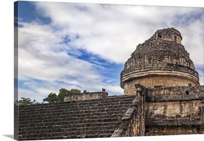 Mexico, Yucatan, Chichen Itza, Caracol Building, Observatory