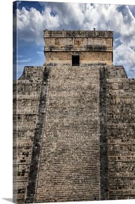 Mexico, Yucatan, Chichen Itza, El Castillo, Pyramid of Kukulkan