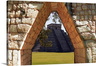 Mexico, Yucatan, Chichen Itza, Mayan Archaeological Site