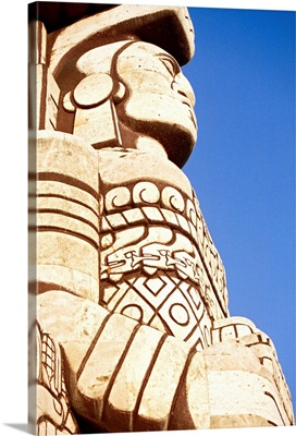 Mexico, Yucatan, Merida, The monument to motherland
