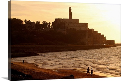 Middle East, Israel, Tel Aviv, View towards the city