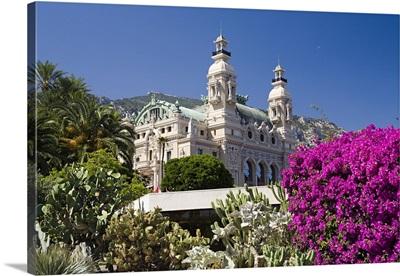 Monaco, Monte Carlo, Casino Botanical Garden