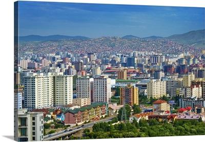 Mongolia, Central Mongolia, Ulaanbaatar