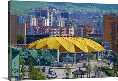 Mongolia, Central Mongolia, Ulaanbaatar, The National Circus