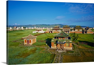 Mongolia, Ovorkhangai, Karakorum, Erdene Zuu Monastery, Orkhon Valley