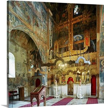 iconostasis montenegro pluzine mediterranean area balkans piva monastery