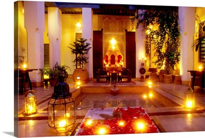 Morocco, Al-Magreb, a magnificent 17th century residence now hotel