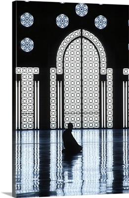 Morocco, Casablanca, Mosque Hassan II, Prayer Room
