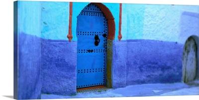 Morocco, Chefchaouen, doors