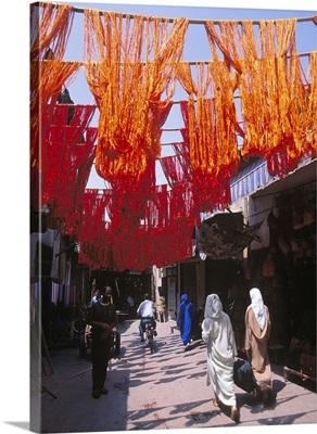 Morocco, Marrakech, Souk