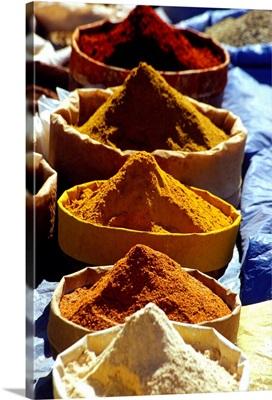Morocco, Marrakech, Spice
