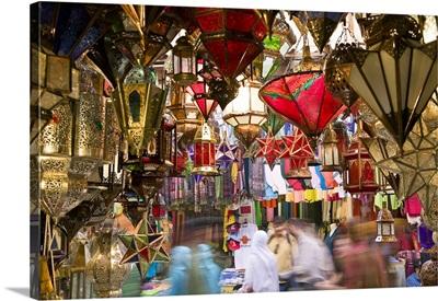 Morocco, Mediterranean area, Marrakech, Souk