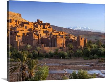 Morocco, Ouarzazate, Ait Benhaddou