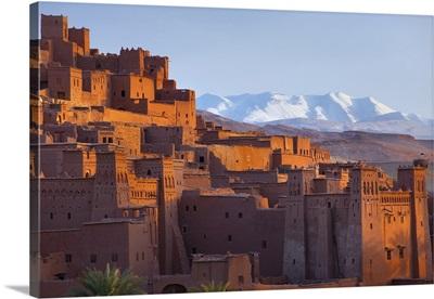 Morocco, Ouarzazate, Ait Benhaddou, Village of Ait ben Haddou