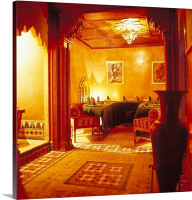 Morocco, Rabat, Medina, restaurant