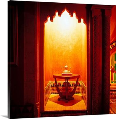 Morocco, Rabat, Medina, tea room