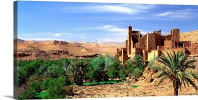 Morocco, Tamdaght, High Atlas, Kasbah of Tamdaght