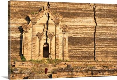 Myanmar, Mandalay, Mingun, the Mingun Pahtodawgyi