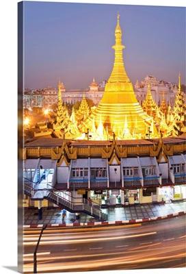 Myanmar, Yangon, Sule Paya