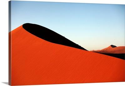 Namibia, Hardap, Namib-Naukluft National Park, Sossusvlei, Sand Dune At Sunset