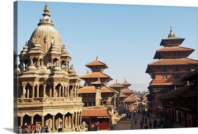 Nepal, Central, Patan, Lalitpur, Durbar Square