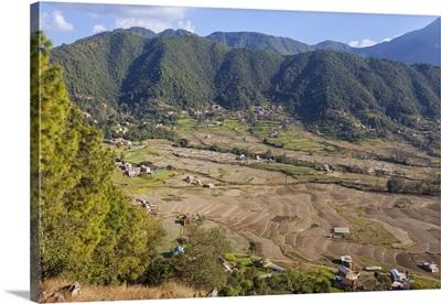 Nepal, Kathmandu, Bishanku Narayan countryside
