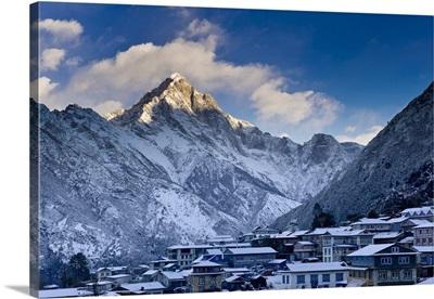 Nepal, Khumbu, Everest Region, Himalaya, Lukla mountain