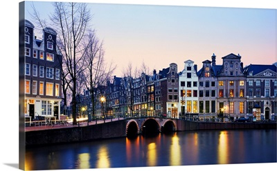 Netherlands, Amsterdam, The Golden bend's palaces