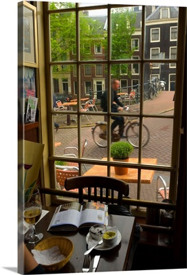 Netherlands, North Holland, Amsterdam, view from a restaurant