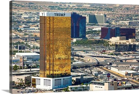 Nevada, Las Vegas, Trump tower casino and hotel Wall Art ...