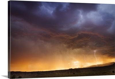 Nevada, Lightening strike at Cathedral Canyon