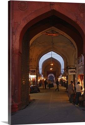 New Delhi, Red Fort, Market