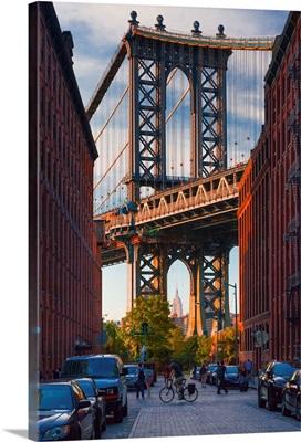 New York City, Brooklyn, Dumbo, Manhattan Bridge