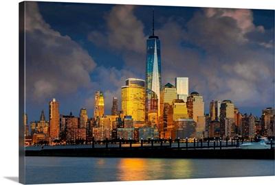 New York City, Hudson, Manhattan, One World Trade Center, Freedom Tower