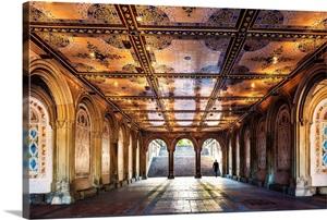New York City Manhattan Central Park Underground